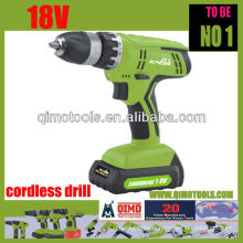 QIMO Professional Power Tools QM1009 18V Single Speed Cordless Drill