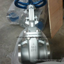 150lb Cast Stainless Steel CF8 Flange Connection End Gate Valve