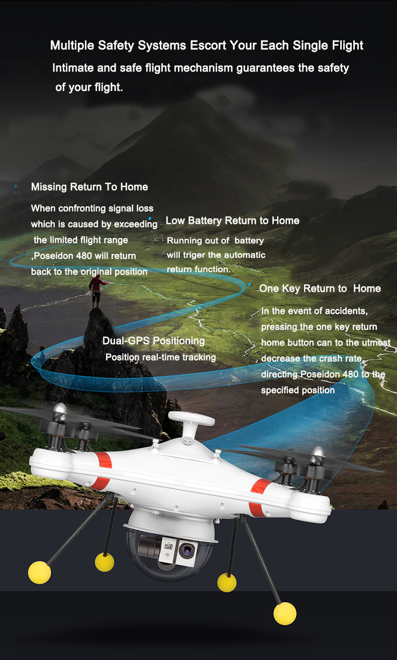 Medium Size Waterproof Drone