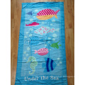100% Velour Printed Beach Towel (BC-BT1016)