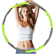 Sports Equipment De Smart Plastic Weighted Hoops Fitness Hula Hoop