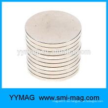 Imán de disco de neodimio D10x2mm para la bolsa