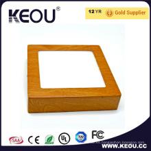 Panel LED cuadrado de venta caliente 24W Ra> 80 PF> 0.9 Techo