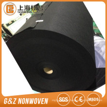 tecido spunlace viscose / fibra de bambu preto