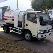 Gás LPG 5cbm que reenche o caminhão de tanque