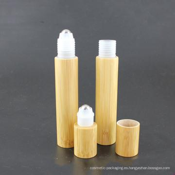 Embalaje Especializado Plástico Bambú Roll on Bottle 15ml. 20 ml (NRB16)