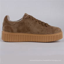 Women Shoes Cow Suede/Leather PU Injection Shoes Snc-65007
