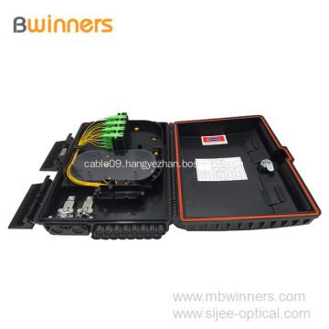 16 core SC Outdoor Cable Distribution Ftth Fiber Optic Termination Box