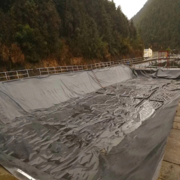 1,5 mm de espesor HDPE Geomembrane Liner-Proofing Liner