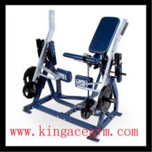 Extension professionnelle de jambe ISO-latérale de matériel de gymnastique d'équipement de gymnastique