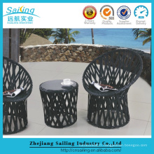 Hot Sale Rattan Rattan French Bistro Tables Chaises