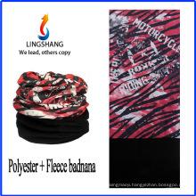LINGSHANG neck tube bandana multifunctional bandana polar fleece multifunctional bandana