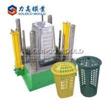 Making high quality plastic laundry basket mould