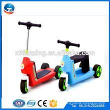 2015 Neues Modell Japanische Großhandel Günstige Qualität Einstellbare Rutschen Faltbare Drei-Rad Kinder Zwei Footed Pedal Dreirad