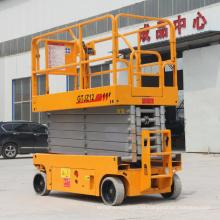 Venta directa de fábrica elevador de tijera móvil elevador de tijera eléctrico China