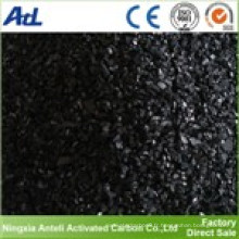 Granulés de charbon actif de charbon