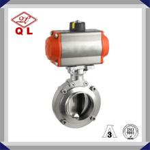 Ss304 и Ss316L из нержавеющей стали сантехнический электрический приводной клапан-бабочка