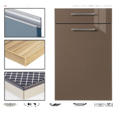Modern Glossy Acrylic Kitchen Cabinet Doors with PVC Edge Banding (customized)