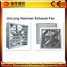 Ventilador de escape industrial de Jinlong / ventilador de flujo de aire / fábrica