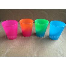 Neon Color Shot Glass, Rainbow Color Shot Glass