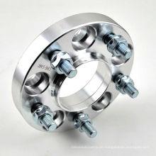 Kundenspezifische Aluminium CNC gefräste Bearbeitung Edelstahl Lenkradadapter