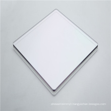 Plastic solid polycarbonate sheet sliding doors