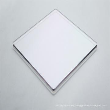 Barrera acústica y visual Puertas corredizas de policarbonato sólido