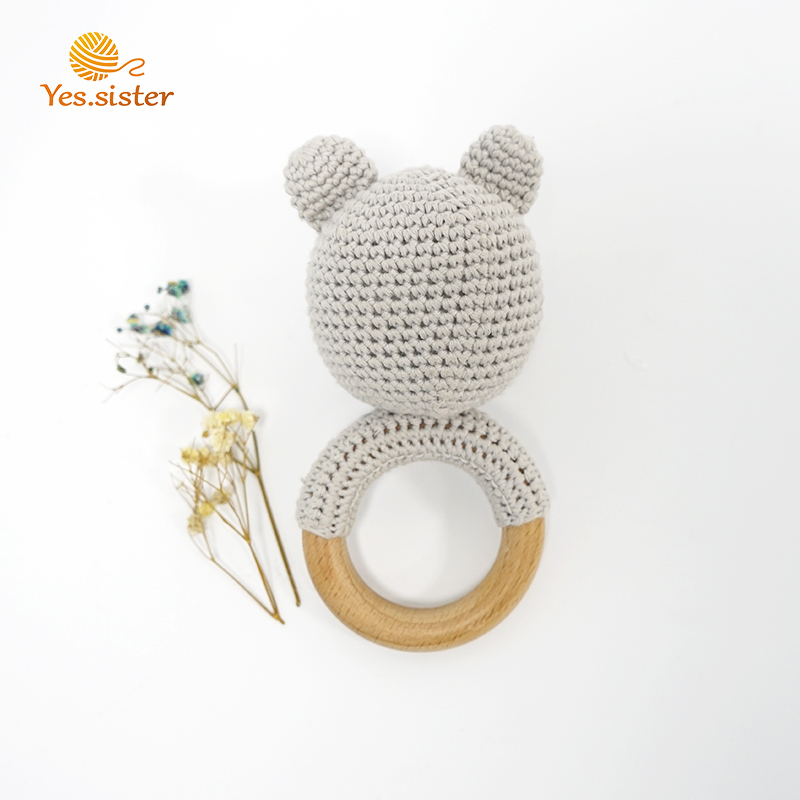 Crochet Bear Teether