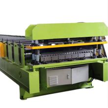 High speed aluminium roofing sheet making machine tile roll forming machine China