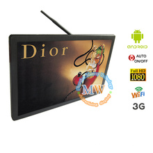 rede de parede de 21,5 polegadas LCD, de publicidade publicidade de Wi-Fi LCD android OS