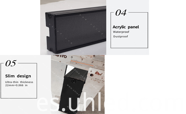 shelf led display2