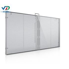 PH3.08-7.81 Pantalla LED transparente con gabinete de 1000X500 mm