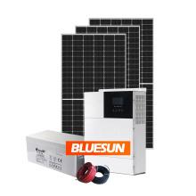 Bluesun energy storage system 8KVA 12KVA long warranty solar lithium battery hybrid house solar system