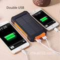 Solar Power 2000mAh Externe Dual Ports Powerbank