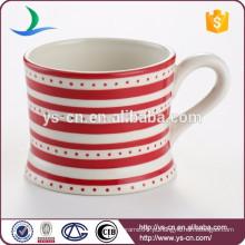 Decal de cerâmica copos de café por atacado