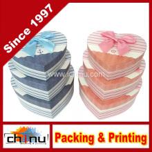 Caixa de presente de papel com OEM personalizado e em estoque (110381)