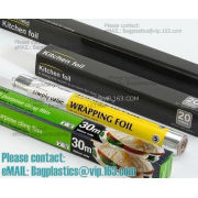 Foil on roll, Foil, Aluminium,emboss, Kitchen foil, wrapping foil, baking foil, clingfilm