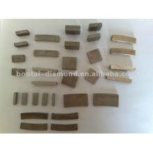 Forma diferente de segmentos de diamante para lâminas de serra e ferramentas abrasivas