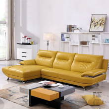 Leather Sectional Sofa With Right Facing Chaise
