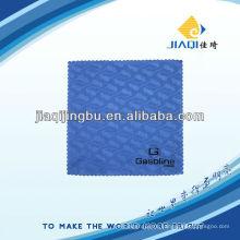 Салфетка для чистки микрофибры с резиновой печатью