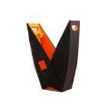 Papel impresso personalizado Caixa de vinho dobrável / Caixa de embalagem / Caixa de presente