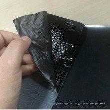 PE/HDPE/ EVA Film Self Adhesive Modified Bitumen Basement Waterproof Membrane (1.2mm /1.5mm /2.0mm /3.0mm /4.0mm)