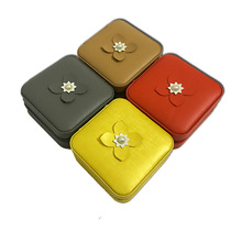 Small size jewelry box for girls mirror