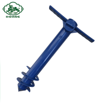 PP Material Beach Payung Screw Jangkar Pole Anchor