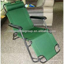 Ocio silla plegable con función reclinable, silla de plegamiento del recliner