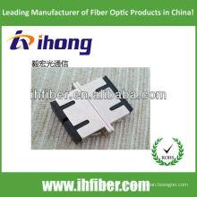SC adaptador de fibra óptica de doble cara con calidad de alta calidad