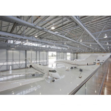 Al-Mg-Mn Panel Space Steel Frame Airplane Hangar