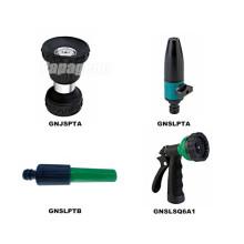 8 pistola de água de jardim de bocal de spray de metal padrão
