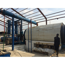 O plástico 6T / D desperdiça / borracha / pneu à máquina diesel com CE & ISO
