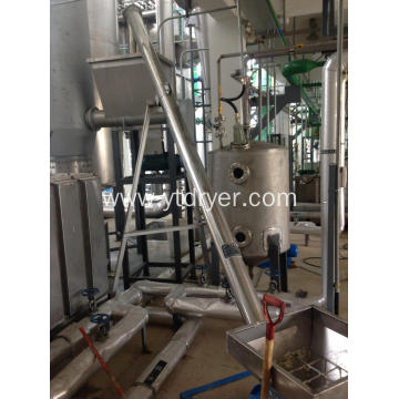 Corn starch airsteam drying machine